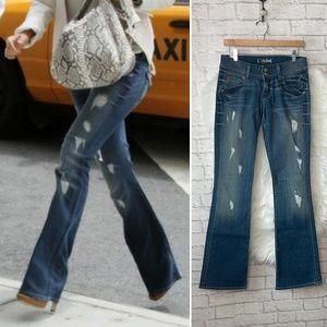 Hudson Signature Distressed Jeans
